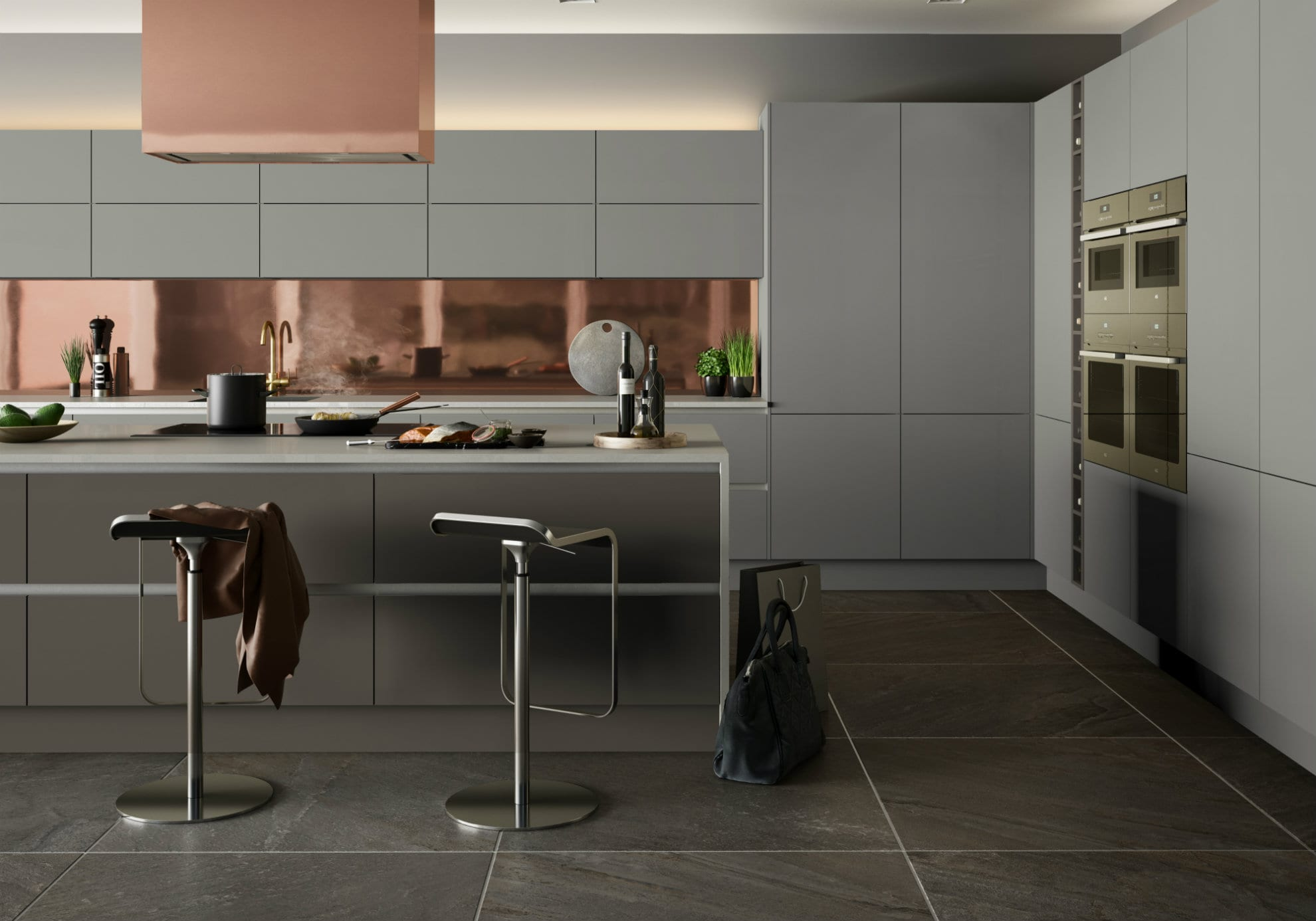 Urban Linea Light Grey and Stone Grey