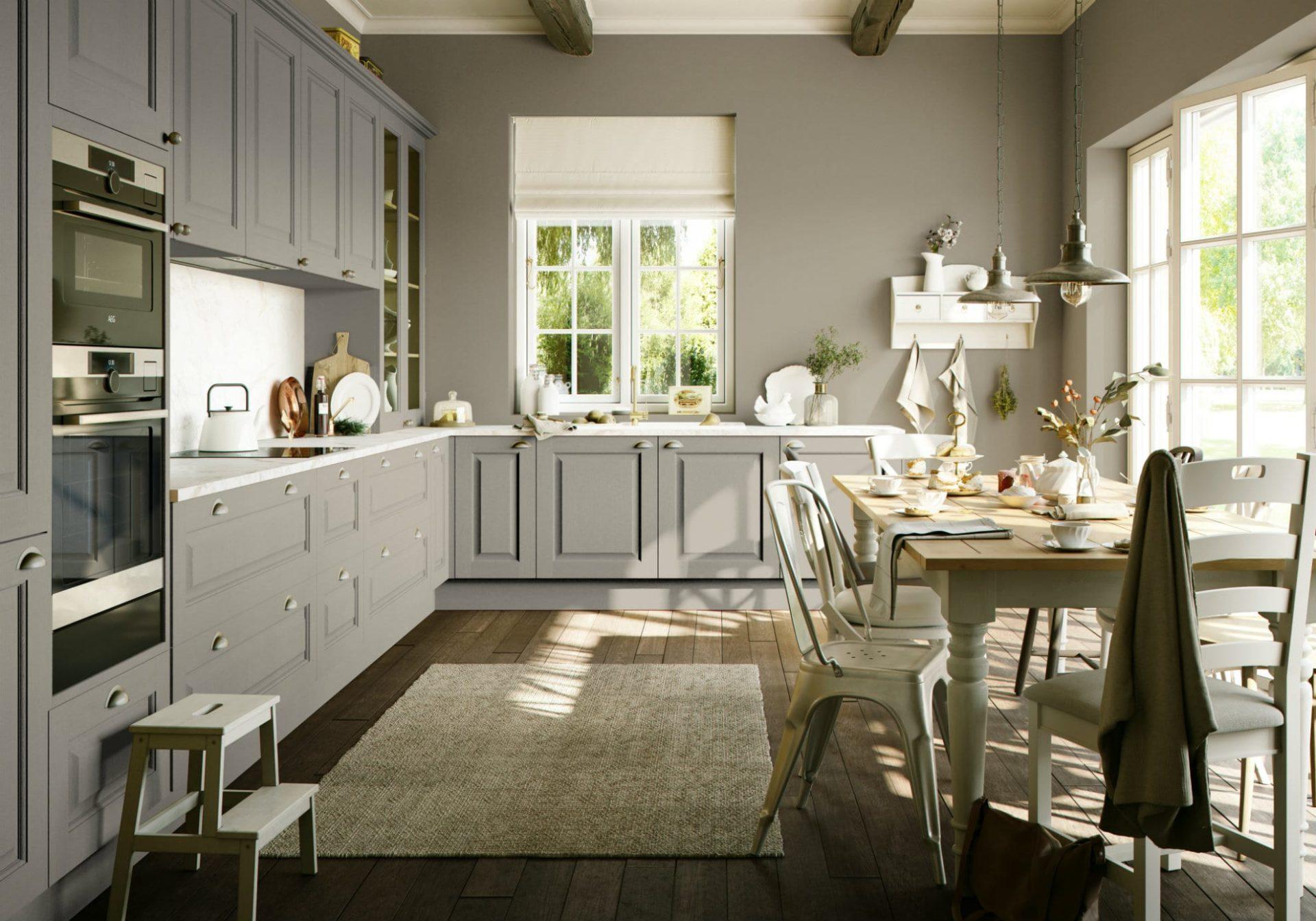 Wickham Natural Stone Kitchen