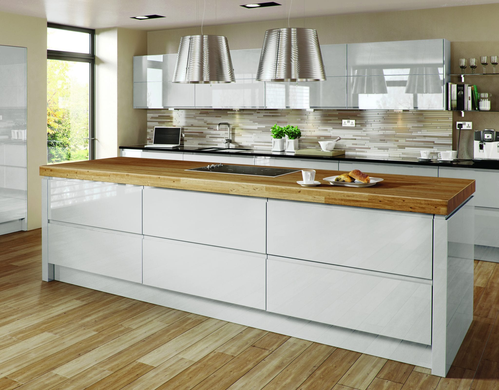 Metz Ash Gloss Kitchen