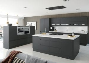 Matt Roma kitchen in anthracite grey