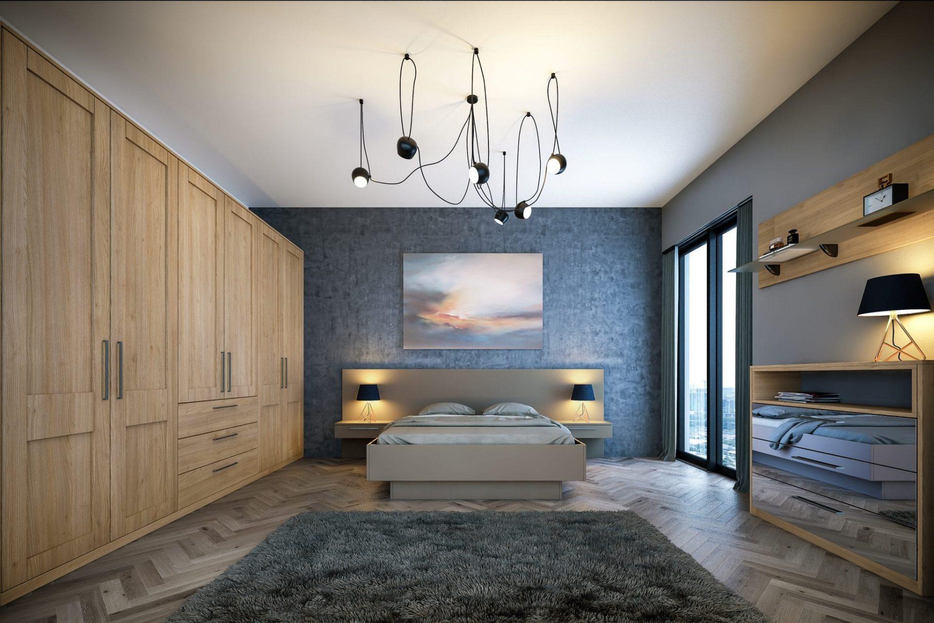 oak fitted bedroom furniture