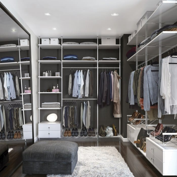 Aura bespoke walk in storage