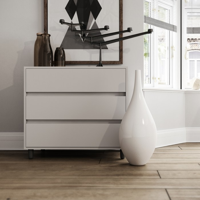 chest of drawers in cashmere