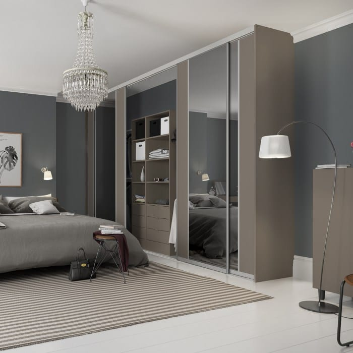 Contour contemporary bedroom
