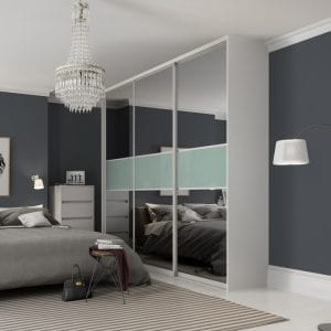 Domalti sliding doors in contemporary bedroom