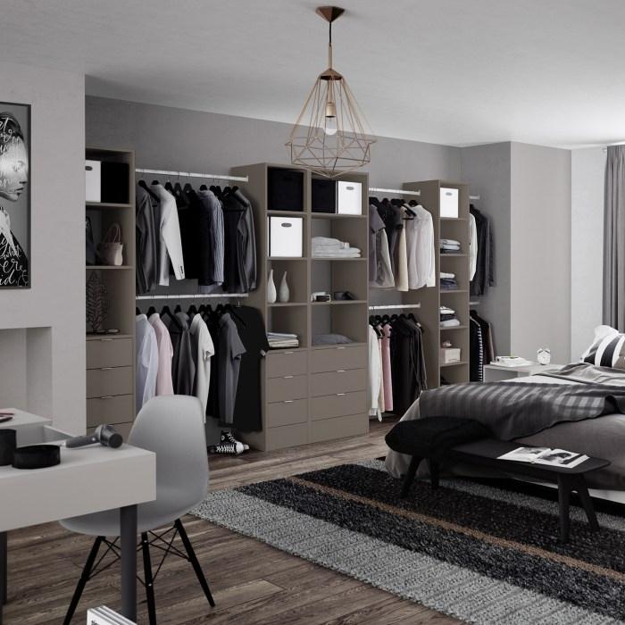 bespoke bedroom modular storage