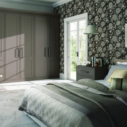 Bella Tullymore Bedroom in Matt Stone Grey