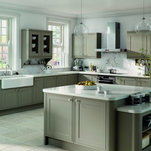 Matt Stone Grey Tullymore Kitchen