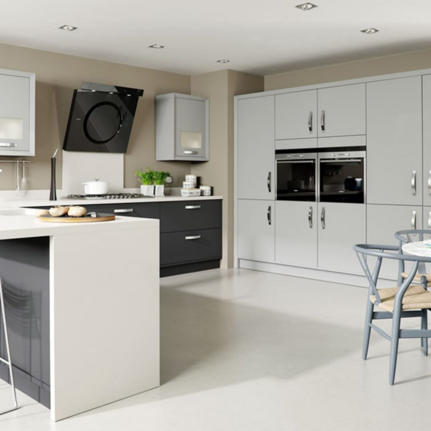 Modern Contemporary Kitchen Hampshire