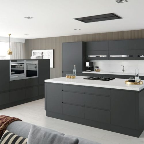 Roma Anthracite Matt kitchen