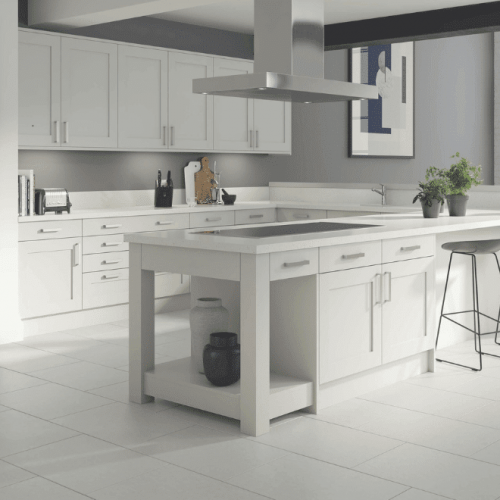 Select Shaker Kitchen In White