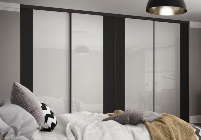 Contour sliding bedroom doors