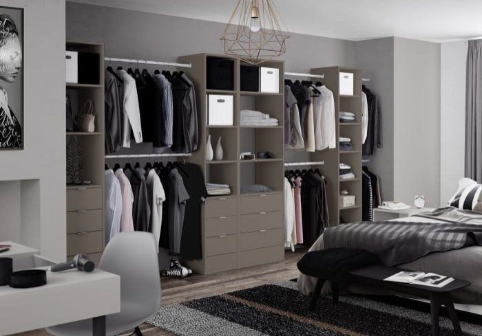 bespoke bedroom modular storage